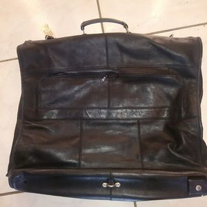 Colombian Leather garment bag